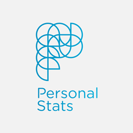 Logo Personal Stats - Rienk, Rienk Post